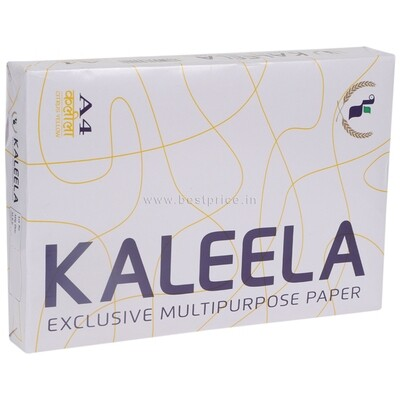 Kaleela Copier Paper, A4, 72gsm, 500 Sheets, Color