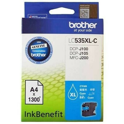 Brother LC535XL Ink Cartridge, Cyan