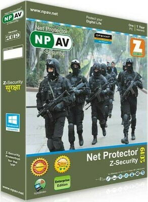 Net Protector Z Security, 2020, 1 User, 1 Year