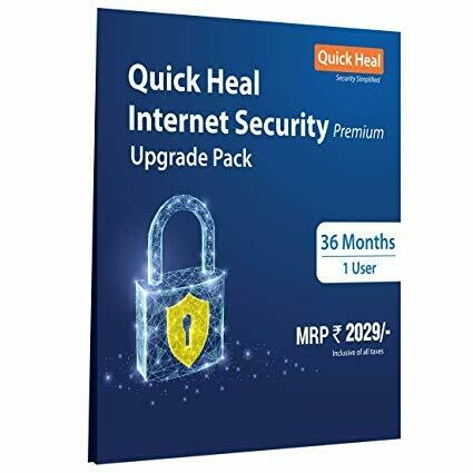 Renewal, 1 User, 3 Year, Quick Heal Internet Security