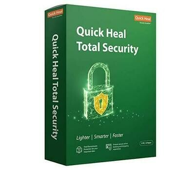 1 User, 3 Year, Quick Heal Total Security