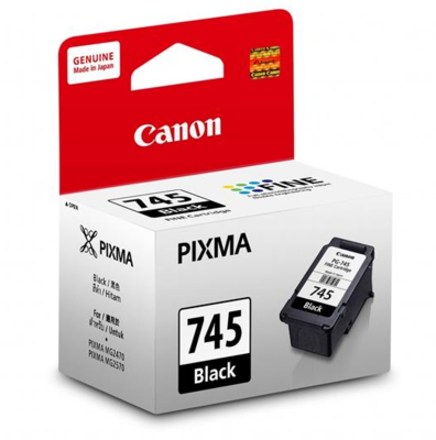 Canon 745 Ink Cartridge, Black
