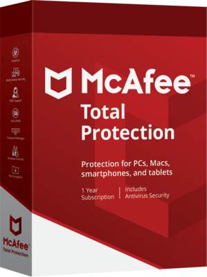 1 User, 1 Year, McAfee Total Protection