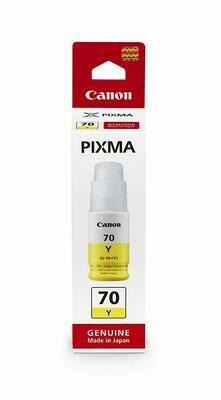 Canon GI-70 Y Ink Bottle, Yellow