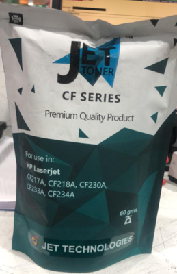 Jet 60gms Toner Powder for HP CF Series