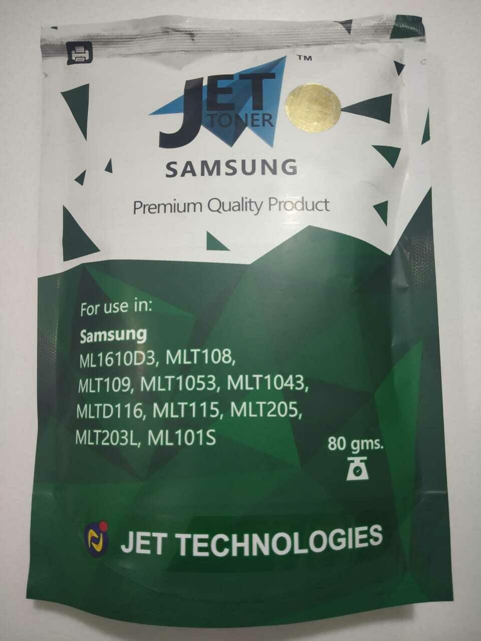 Jet 80gms Toner Powder for Samsung