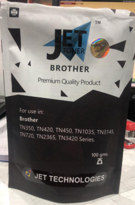Jet 100gms Toner Powder for Brother