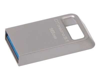 Kingston 16GB Pen Drive, 3.1, DTMC3, Metal