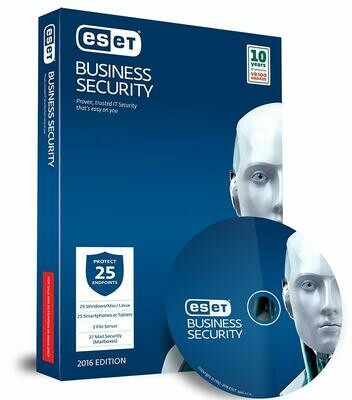 25 User, 1 Year, ESET Business Security