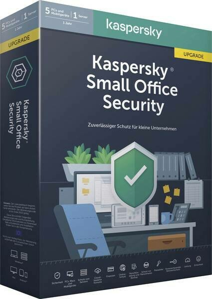 5 PC, 1 Server, 5 Mobile, 1 Year, Kaspersky Small Office Security