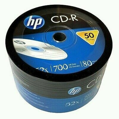 HP 52x 700MB 80-Minute CD-R Media 50-Piece Spindle