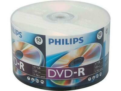 Philips DVD 4,7 GB DVD-R 50