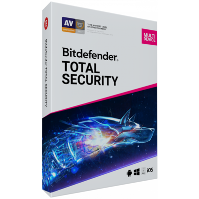 3 User, 1 Year, Bitdefender Total Security, Multi Devices