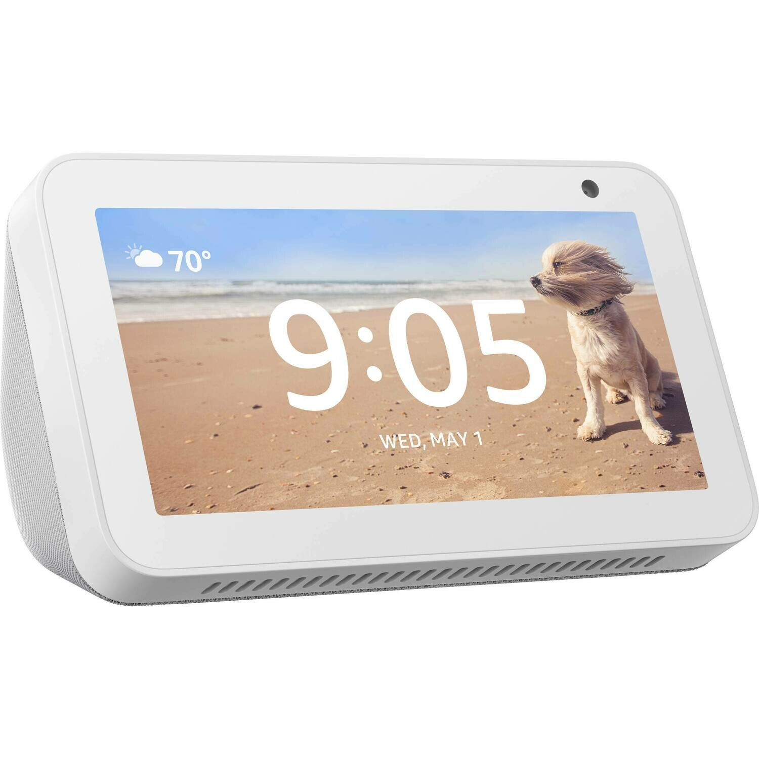 Amazon Echo Show 5 Voice Activated Speaker with Screen, White