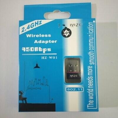 950Mbps Mini WiFi Dongle USB Adapter