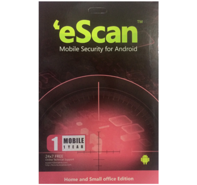1 Device 1 Year, eScan Mobile Security For Android