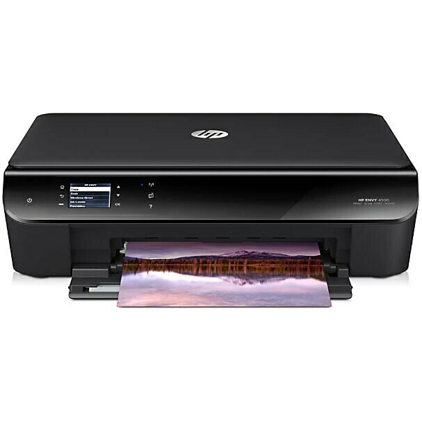 HP ENVY 4500 e-All-in-One Duplex Printer, Without Cartridge