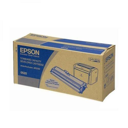 Epson 0520 / M1200 Black Toner Cartridge 880609 HSN:8443