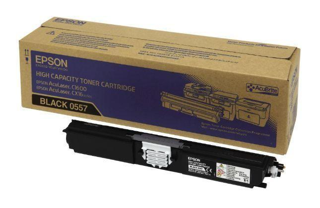 Epson 0557 C1600 & CX16 Black Toner Cartridge 0557 HSN:8443