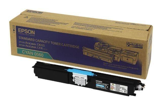 Epson 0560 C1600 & CX16  Cyan Toner Cartridge 0560 HSN:8443