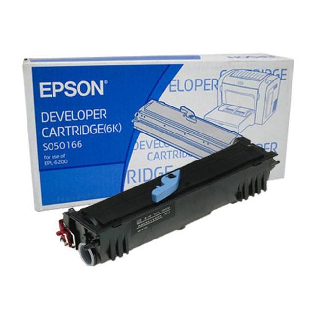Epson 6200 Black Toner Cartridge (S050166) 82323 HSN:8443