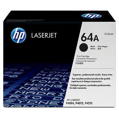 HP 64A Black Toner Cartridge (CC364A) 10600 HSN:8443
