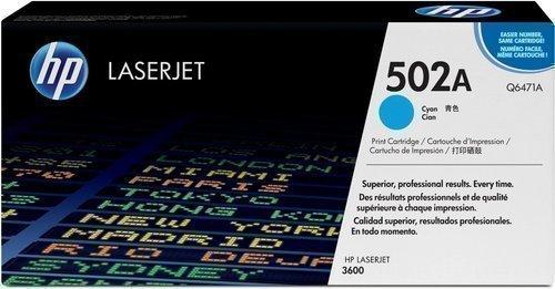 HP Q6471A 502A Cyan Toner Cartridge Q6471A HSN:8443