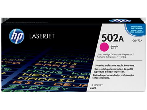 HP Q6473A 502A Magenta Toner Cartridge Q6473A HSN:8443