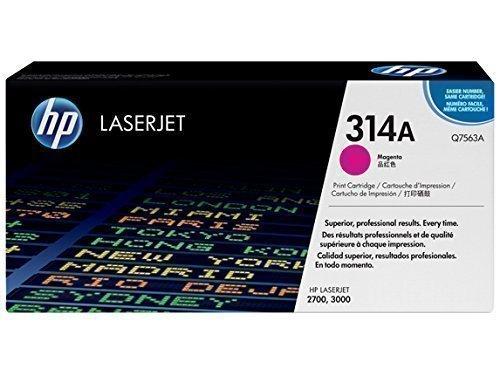 HP Q7563A 314A Magenta Toner Cartridge Q7563A HSN:8443