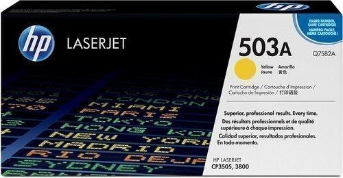 HP Q7582A 503A Yellow Toner Cartridge Q7582A HSN:8443