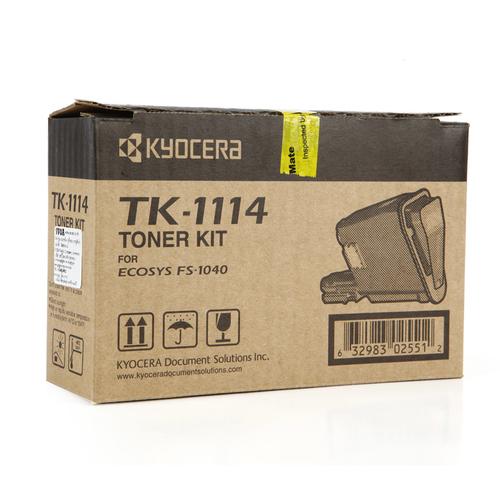 Kyocera KT - 1114 Toner Cartridge KT-1114 HSN:8443