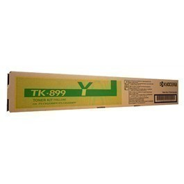 Kyocera TK-899Y Yellow Toner Cartridge TK-899Y HSN:8443
