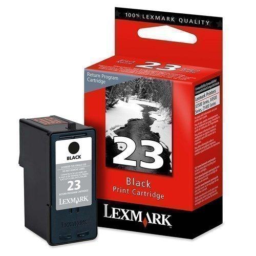 Lexmark  Ink Cartridge - Black 18C1523 #23 18C1523 HSN:8443
