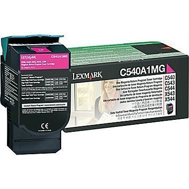 Lexmark C540A1MG Magenta Toner Cartridge 81299 HSN:8443