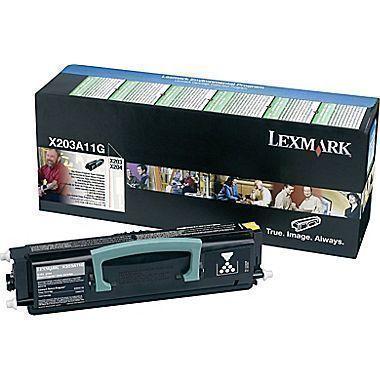 Lexmark X203n Black Toner Cartridge X203A11G X203A11G HSN:8443