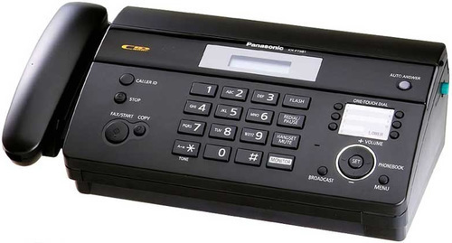 Panasonic KX - FT - 981 Fax Machine 8248 HSN:8443