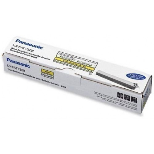 Panasonic KX - FATY508E Yellow Toner Cartridge KX-FATY508E HSN:8443