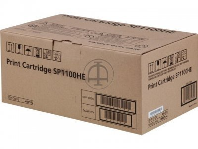 Ricoh Aficio SP 1100 406567 Black Toner Cartridge 406567 HSN:8443