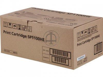 Ricoh Aficio SP 1100S Black Toner Cartridge SP 1100S HSN:8443
