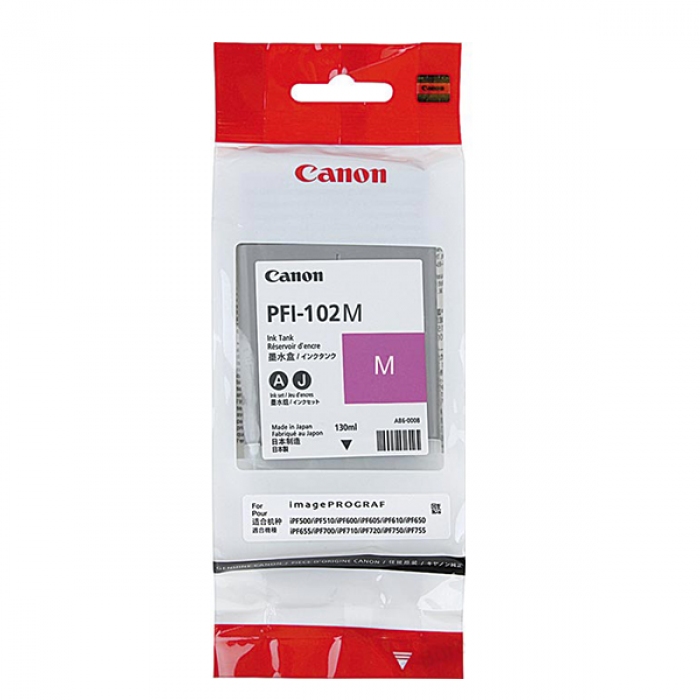 Canon 102 Magenta Ink Cartridge 9810 HSN:84439952