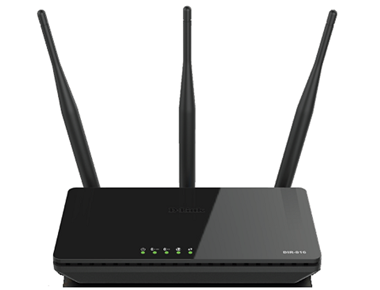 D-Link Wireless DIR-816 AC750 Dual Band Router, WAN