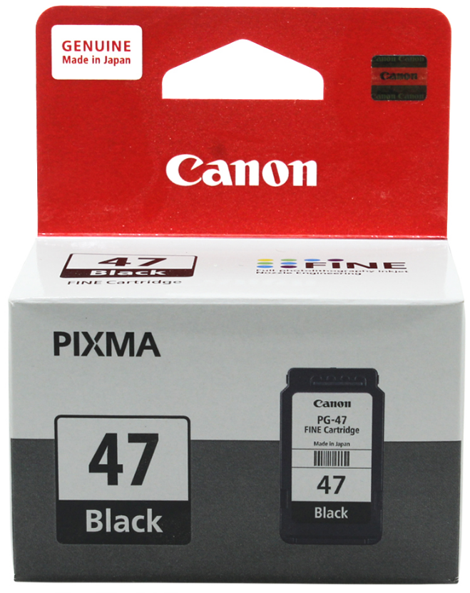 Canon 47 Ink Cartridge, Black