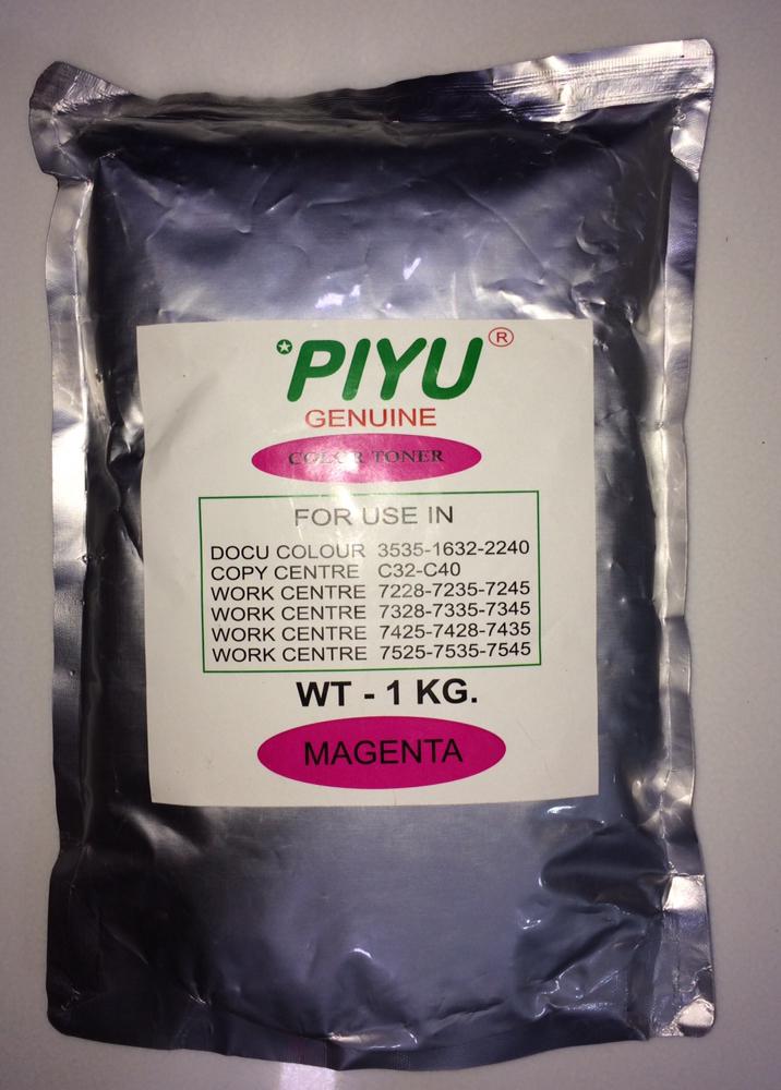 Piyu 1-KG Magenta Toner for Xerox