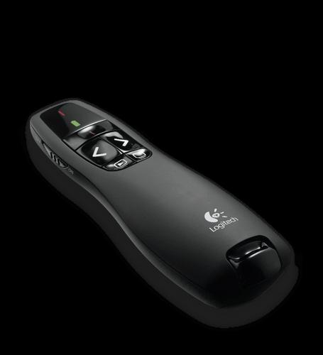 Logitech R400 Wireless Presentation Remote with Laser Pointer 910-001361 HSN:85269200