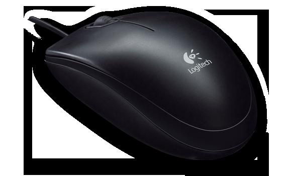 Logitech B100 Optical USB Mouse 910-001439 HSN:84716060