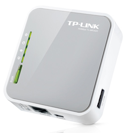 TP-Link MR3020 Wireless Router, WAN, 3G/4G
