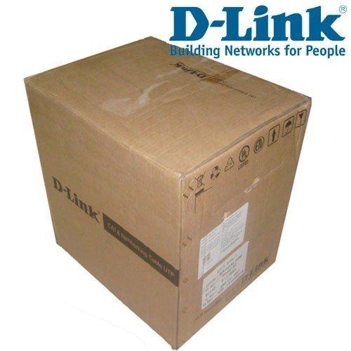 D-Link 305mtr Cat-5 Lan Cable, NCB-5EUGRYR, Gray