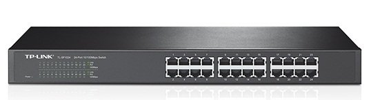 TP-Link 24-Port Rackmount Switch, SF1024D, 100Mbps