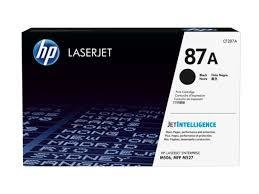 HP 87A Black Toner Cartridge (CF287A) 8804 HSN:84439959