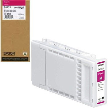Epson T6933 Magenta Ink Cartridge (350ml) 1555 HSN:84439952